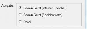 Export Garmin 6